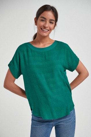 Teal Stripe T-Shirt