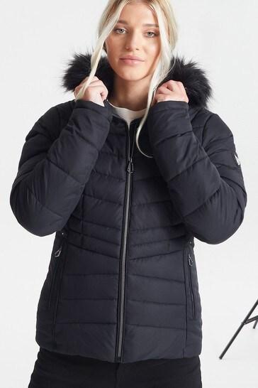 Dare 2b Black Glamorize II Waterproof Ski Jacket