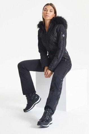 Dare 2b X Julien Macdonald Black Grandious Snowsuit