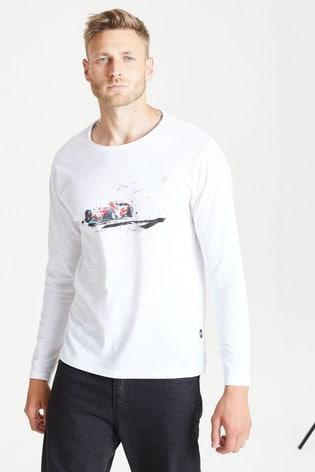 Dare 2b Grey Overdrive Long Sleeve T-Shirt