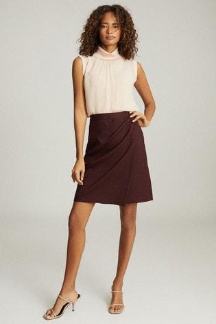 Reiss Berry Freya Tailored Pencil Skirt