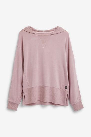 Lilac Soft Viscose Hoody
