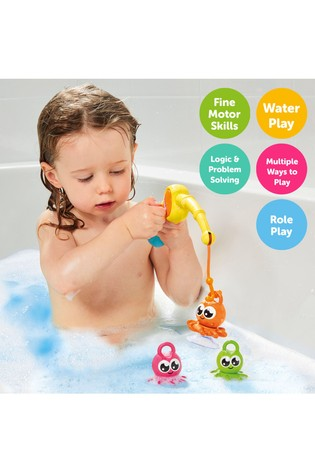 TOMY Toomies 3-In-1 Fishing Frenzy Bath Toy