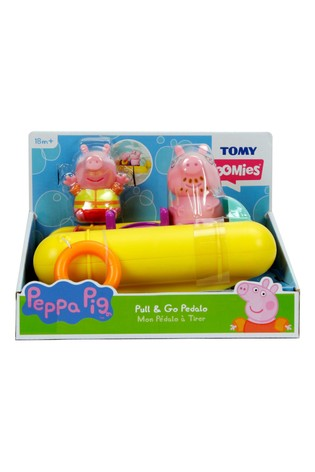 Peppa Pig Pull Go Pedalo