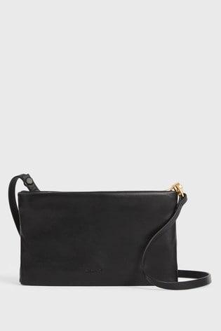 AllSaints Mila Leather Cross-Body Bag
