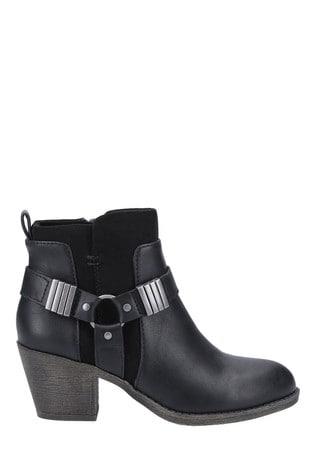 Rocket Dog Black/Black Setty Ankle Boots