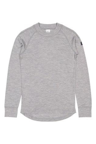 Polarn O. Pyret Grey Soft Rws Merino Thermal Top