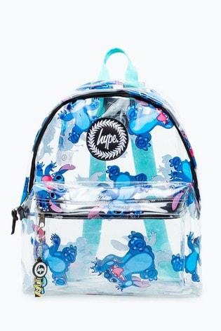 Hype. Disney™ Stitch Transparent Backpack