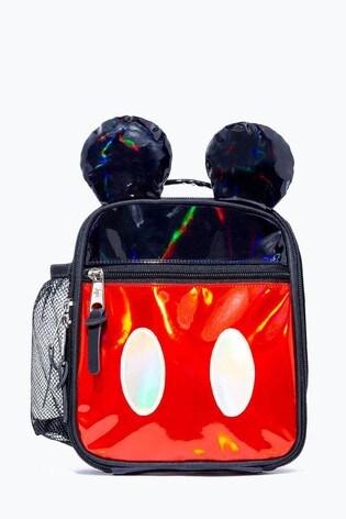 Hype. Disney™ Mickey Black Red Shine Lunch Bag