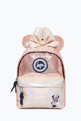 Hype. Disney™ Minnie Gold Glam Mini Backpack