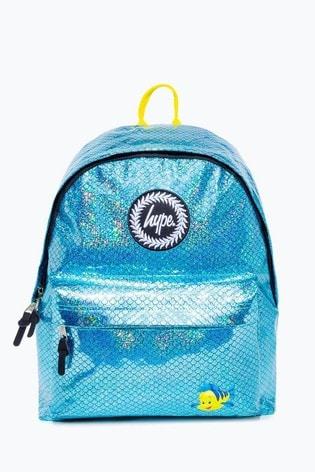 Hype. Disney™ Flounder Blue Scale Backpack