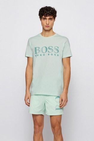 BOSS Green Regular Fit Logo T-Shirt