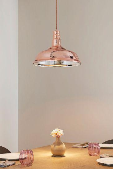Gallery Direct Copper Hugh Pendant Light