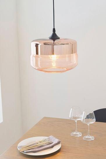 Gallery Direct Copper Bruce Pendant Light