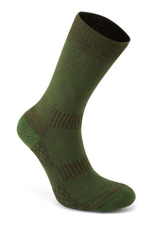 Craghoppers Green Heat Regulate Travel Socks