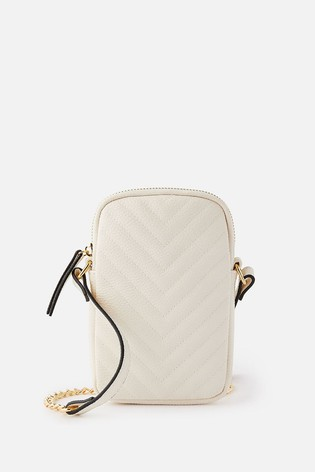Accessorize Quilted Phone Purse