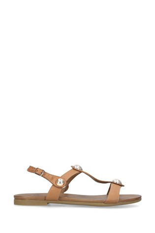Carvela Comfort Natural Saz Sandals