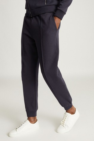 Reiss Blue Coventry Jersey Joggers
