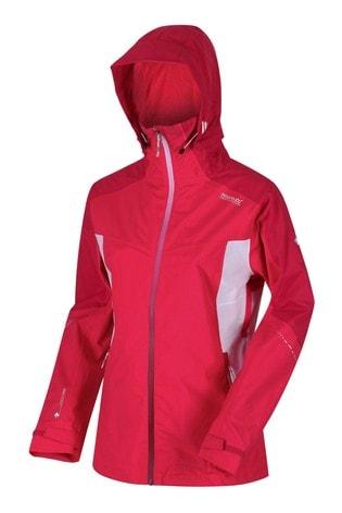 Regatta Pink Womens Oklahoma VI Waterproof Jacket
