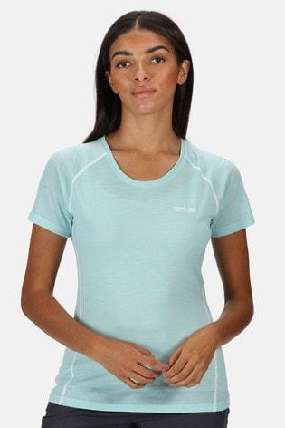 Regatta Blue Womens Tornell II Active T-Shirt