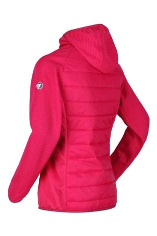 Regatta Pink Womens Andreson V Hybrid Baffle Jacket