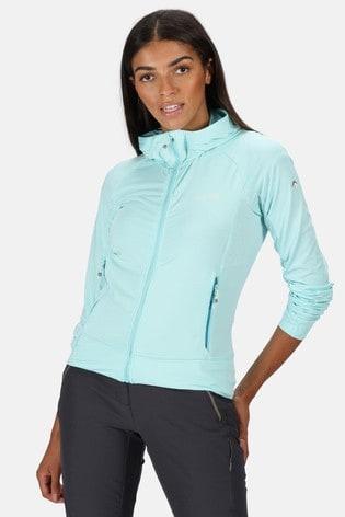 Regatta Blue Cuba Hooded Softshell Jacket