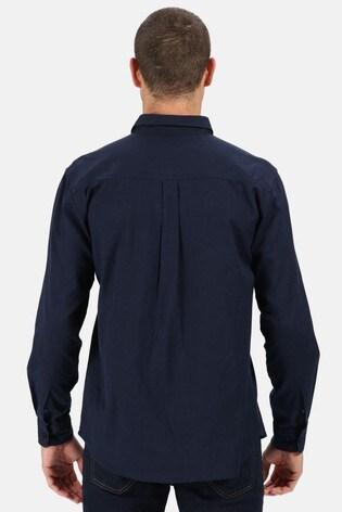 Regatta Blue Bard Long Sleeve Coolweave Shirt