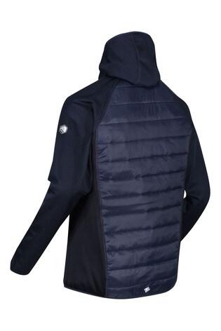Regatta Blue Andreson V Hybrid Baffle Jacket