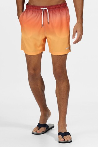 Regatta Orange Loras Quick Drying Swim Shorts