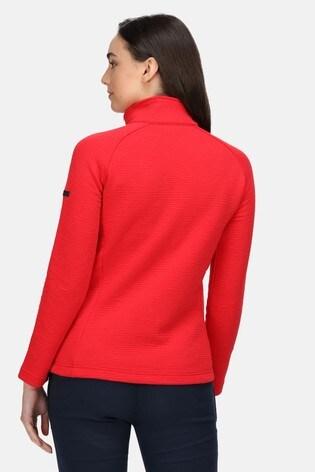 Regatta Red Sadiya Full Zip Fleece