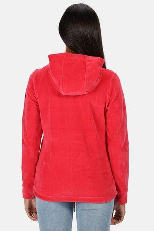 Regatta Red Ranielle Full Zip Hooded Fleece