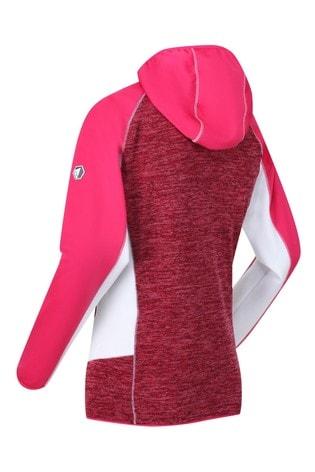 Regatta Pink Walbury Full Zip Hooded Fleece