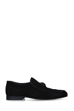 Kurt Geiger London Black Hugh Eagle Drench Shoes