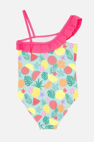 Angels by Accessorize Pink  Fruit Print Swimsuit