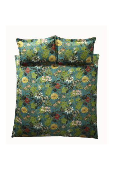 Clarke & Clarke Passiflora Duvet Cover and Pillowcase Set