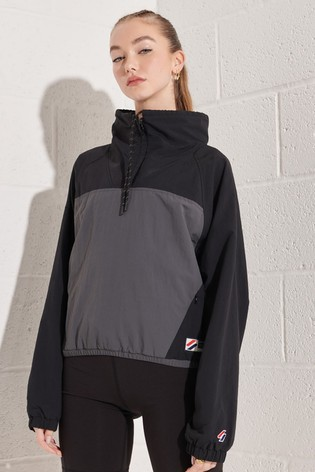 Superdry Overhead Cropped Cagoule Jacket