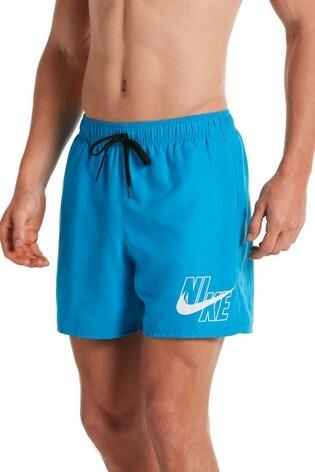 "Nike Logo Lap 5"" Volley Swim Shorts"