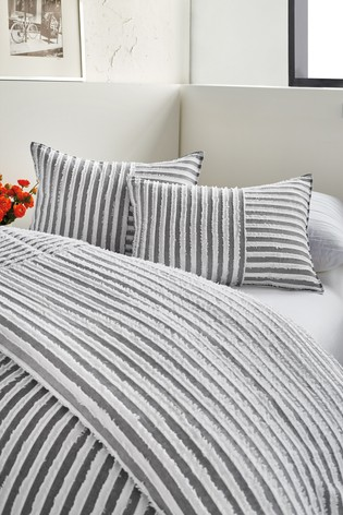 DKNY Clipped Square Duvet Cover