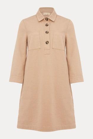 Phase Eight Neutral Kirsty Denim Dress