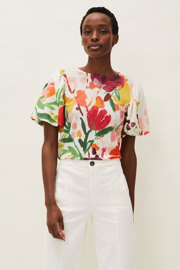Phase Eight Multi Kacie Floral Top