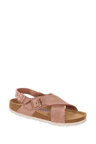 Birkenstock Pink Tulum Sandals