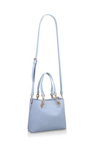 Carvela Blue Mini Cammie Slouch Tote Bag
