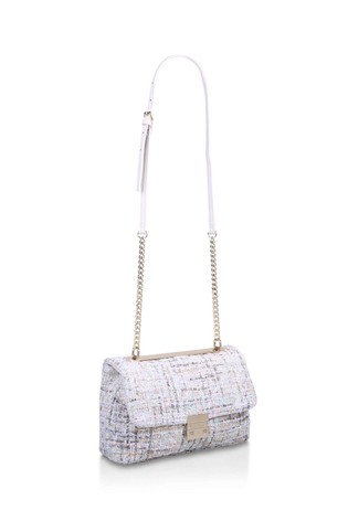 Carvela Cream Bailey Large Soft Quilt Bag