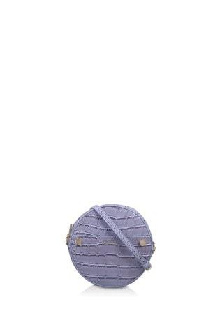 Carvela Blue Jessica Circle Cross-Body Bag
