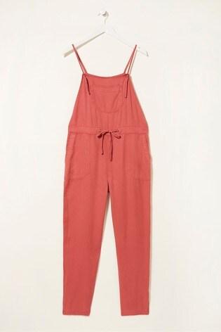 FatFace Pink Ellis TENCEL™ Jumpsuit