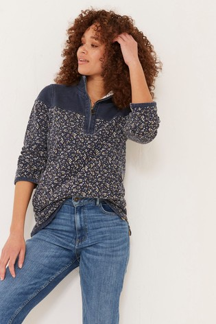 FatFace Airlie Sunshine Ditsy Sweat Top