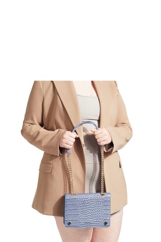 Carvela Blue Rhona Cross Body Bag