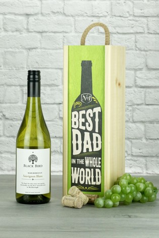 Best Dad In The World Sauvignon Wine Gift by Le Bon Vin