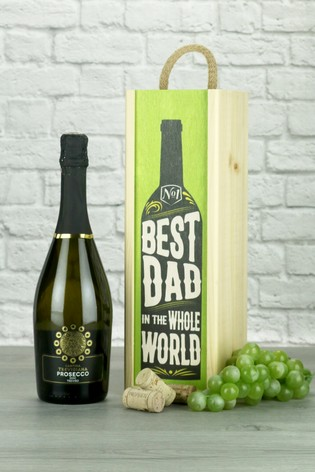 Best Dad In The World Prosecco Wine Gift by Le Bon Vin