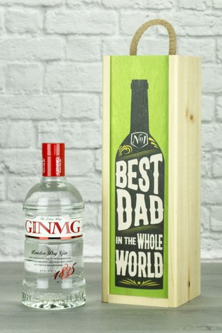 Best Dad In The World Gin Wine Gift by Le Bon Vin